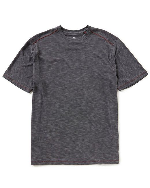 Tommy Bahama - Gray Paradise Around Crewneck Tee for Men - Lyst