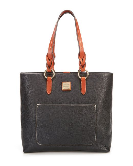 Dooney & Bourke - Black Pebble Collection Pammy Tote - Lyst