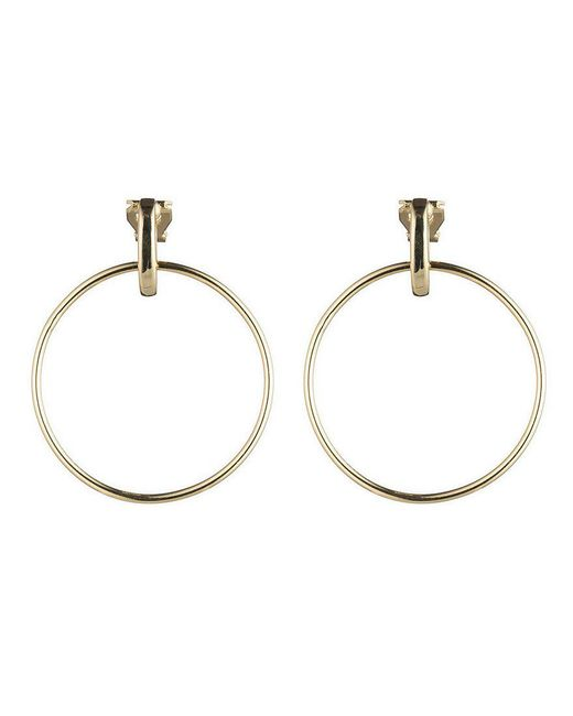 Lauren by Ralph Lauren | Metallic Door Knocker Clip-on Earrings | Lyst