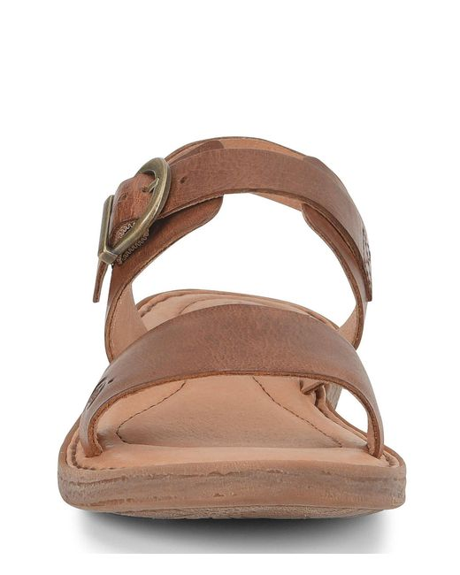 05874b779770 ... Born - Brown Selway Leather Sandals - Lyst ...