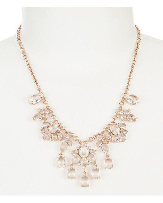 Kate Spade - Metallic Glitzy Gems Statement Necklace - Lyst