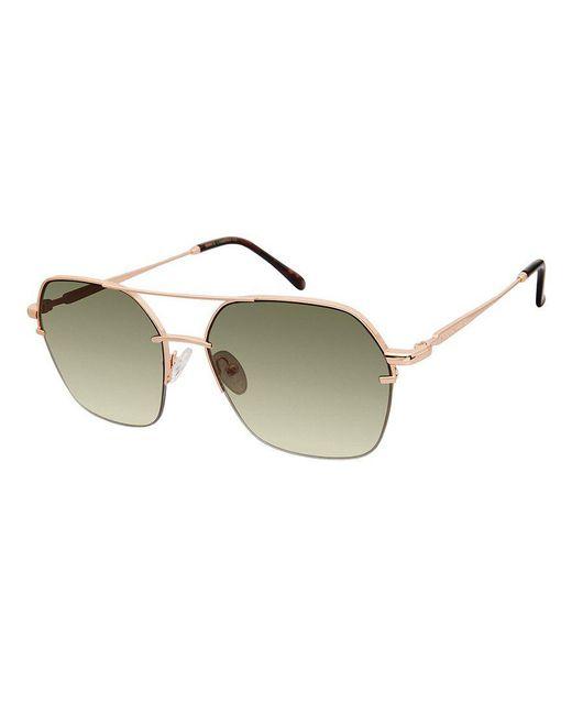 Vince Camuto - Metallic Geometric Aviator Sunglasses - Lyst