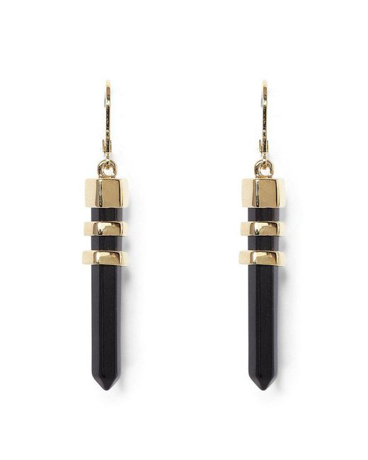 Vince Camuto | Metallic Long Bullet Drop Earrings | Lyst