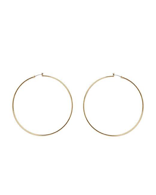 Vince Camuto - Metallic Large Thin Hoop Earrings - Lyst