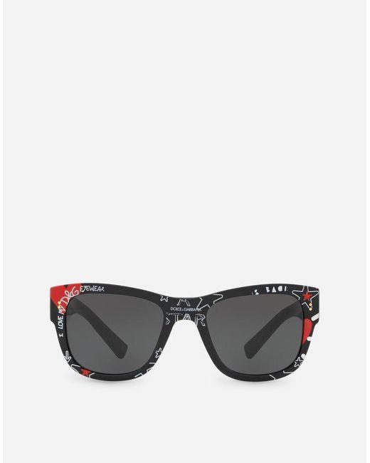 4ceafa44108 Dolce   Gabbana Domenico Sunglasses in Black for Men - Lyst