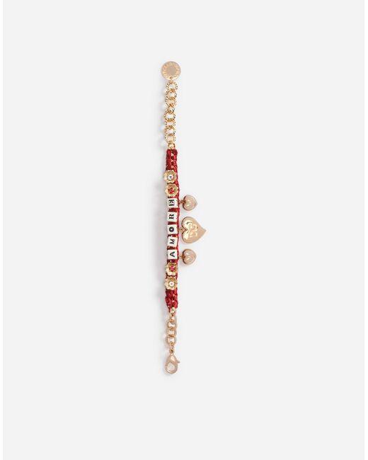 Dolce & Gabbana | Metallic Bracelet With Dice | Lyst