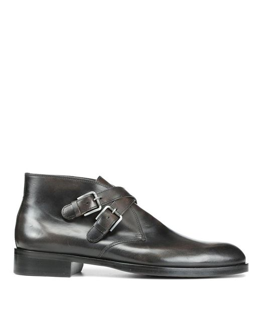 Donald J Pliner | Black Dipped Calf Boot for Men | Lyst