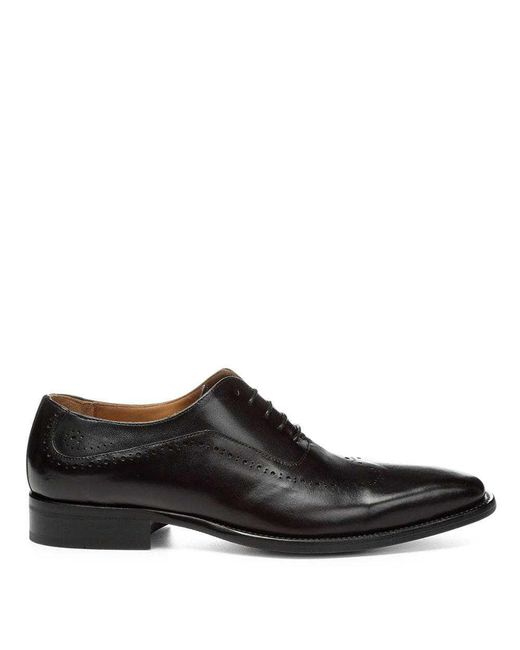 Donald J Pliner | Black Calf Leather Oxfordâ for Men | Lyst