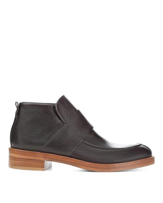 Donald J Pliner | Black Vachetta Leather Chelsea Boot for Men | Lyst