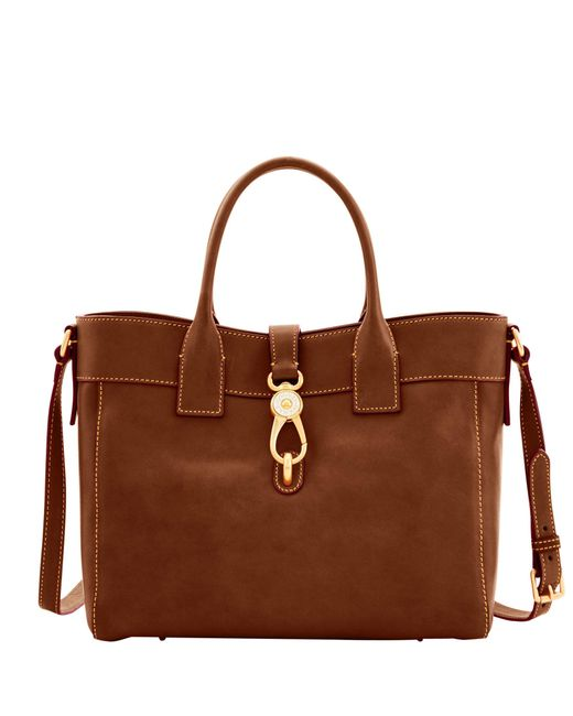 Dooney & Bourke - Brown Florentine Large Amelie Tote - Lyst