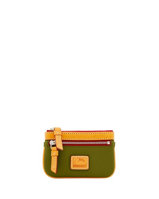Dooney & Bourke - Green Patterson Leather Small Coin Case - Lyst