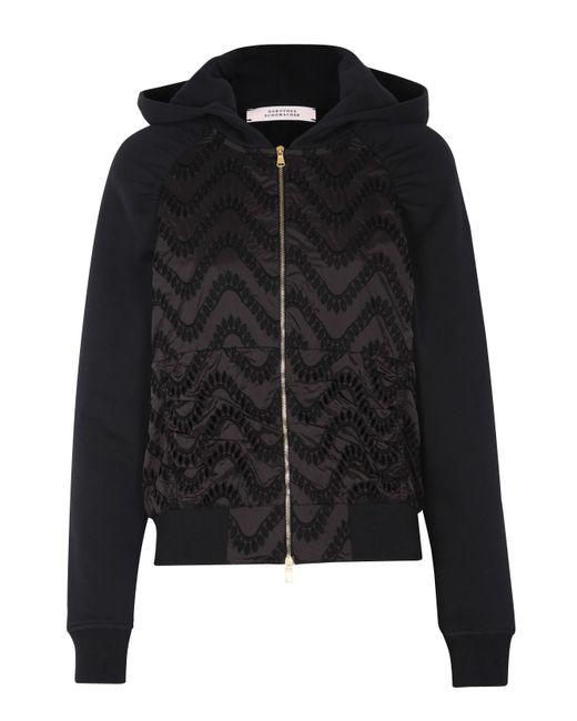 Dorothee Schumacher | Black Airy Volume Hoodie Jacket 1/1 | Lyst