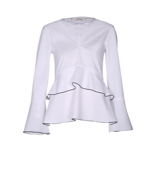 Dorothee Schumacher | White In The Now Blouse | Lyst