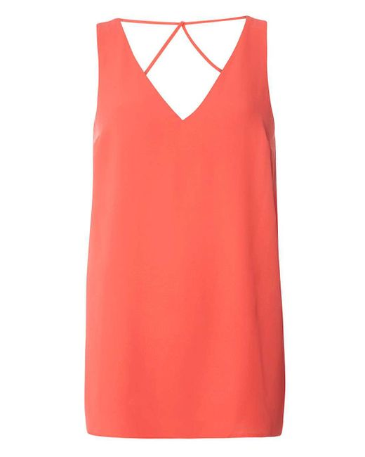 Dorothy Perkins | Pink Tall Coral Top | Lyst