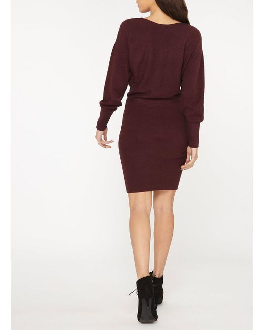 Dorothy Perkins Womens **Vila Fig Long Sleeve Knitted Dress- Clearance In China Where To Buy Cheap Real Affordable Buy Cheap Best Place gH3yfc