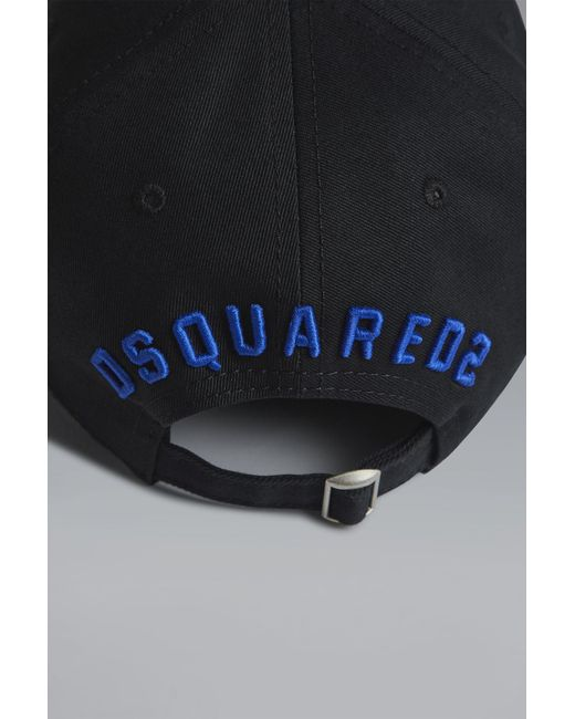 d310e44569b DSquared² - Black Icon Baseball Cap for Men - Lyst ...