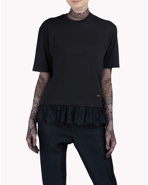 DSquared²   Black Short Sleeve T-shirt   Lyst