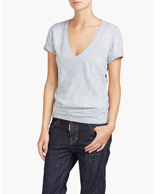 DSquared² | Gray Renny T-shirt | Lyst