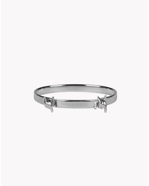 DSquared² | Metallic Babe Wire Armlet | Lyst