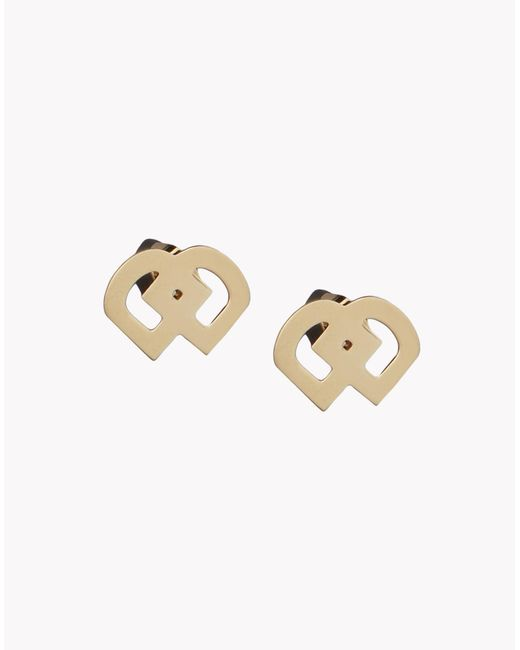 DSquared² | Metallic Dd Earrings | Lyst