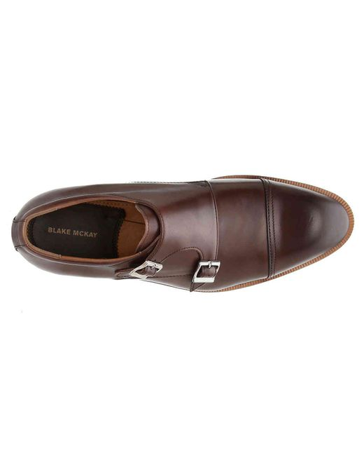 de5747b0441 ... Blake McKay - Brown Harlowe T7 Monk Strap Slip-on for Men - Lyst ...