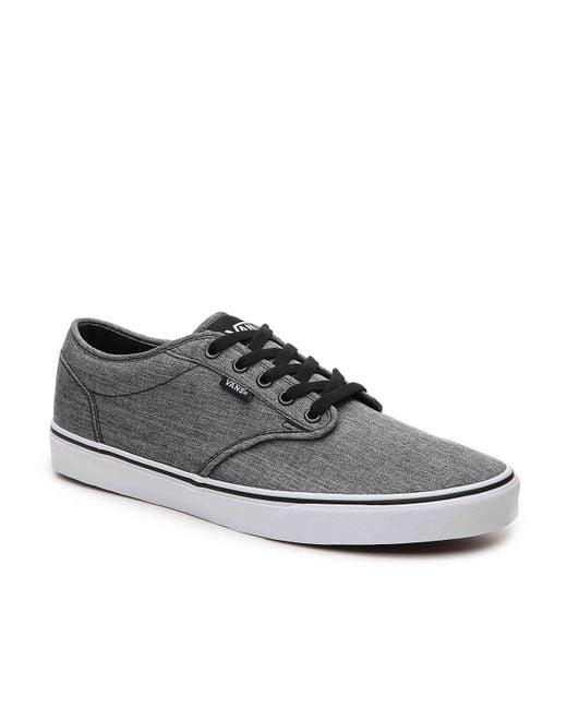 f92019ce4e Vans - Gray Atwood Sneaker for Men - Lyst ...