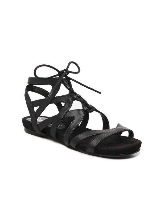 5b924280893 Lyst - Bellini Nickel Gladiator Sandal in Black - Save 20%