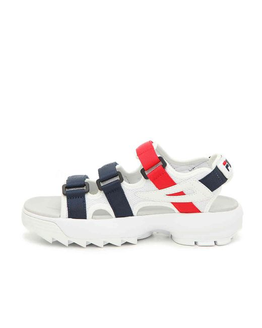 44976019e5e ... Fila - Multicolor Women s Disruptor Platform Sandals ...