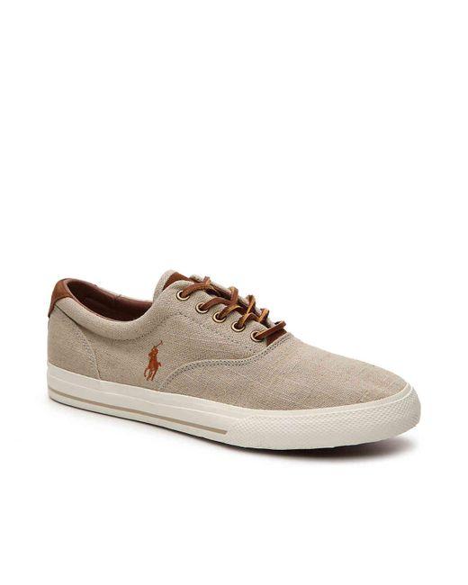 Polo Ralph Lauren - Brown Vaughn Sneaker for Men - Lyst