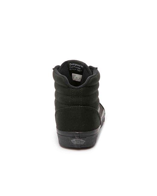 ... Vans - Black Ward Hi Canvas High-top Sneaker for Men - Lyst ... 386edc9d4