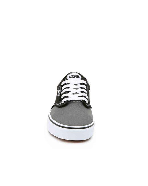 f7171bb9b94 ... Vans - Black Atwood Logo Sneaker for Men - Lyst ...