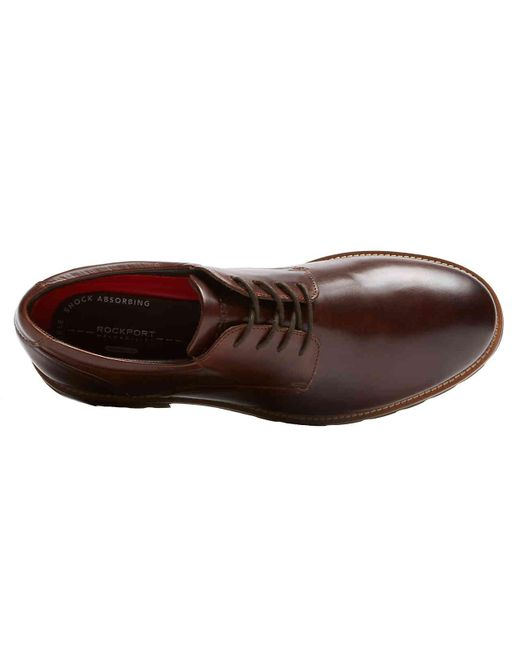 4c1757393ab3 ... Rockport - Brown Colben Oxford for Men - Lyst ...