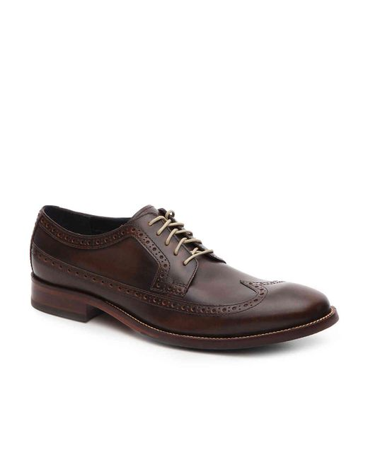 Cole Haan - Brown Williams Wingtip Oxford for Men - Lyst