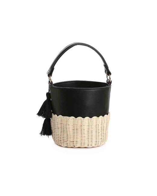 3c46aaba1 ... ALDO - Black Aceille Bucket Bag - Lyst ...