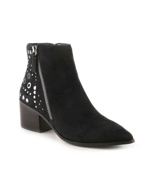Tahari - Black Rachel Studded Ankle Booties - Lyst