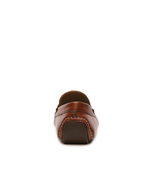9b5318e12f3 ... Robert Zur - Brown Hugo Penny Loafer for Men - Lyst ...