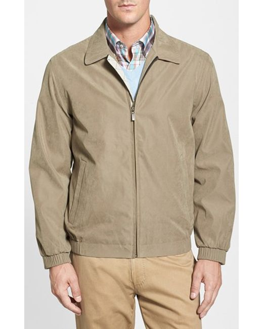 Rainforest | Natural 'microseta' Lightweight Golf Jacket for Men | Lyst