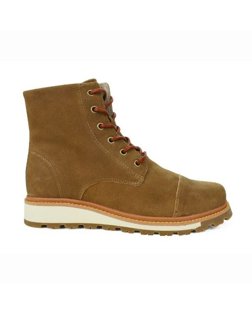 burnetie s snow boots m light brown in brown for