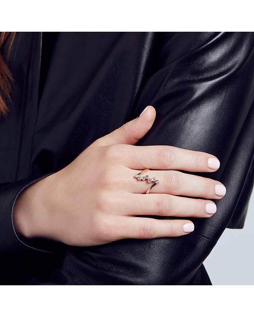 Carbon & Hyde | Metallic Anastasia Ring | Lyst