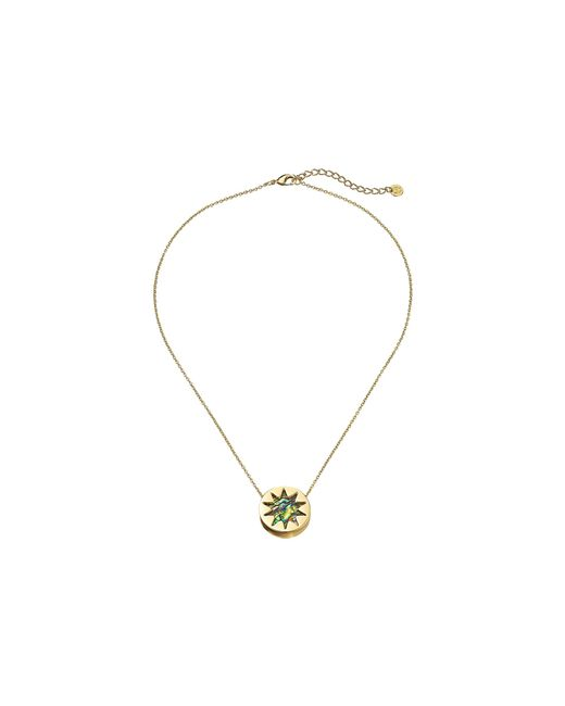 House of Harlow 1960 | Metallic Abalone Mini Sunburst Pendant Necklace | Lyst