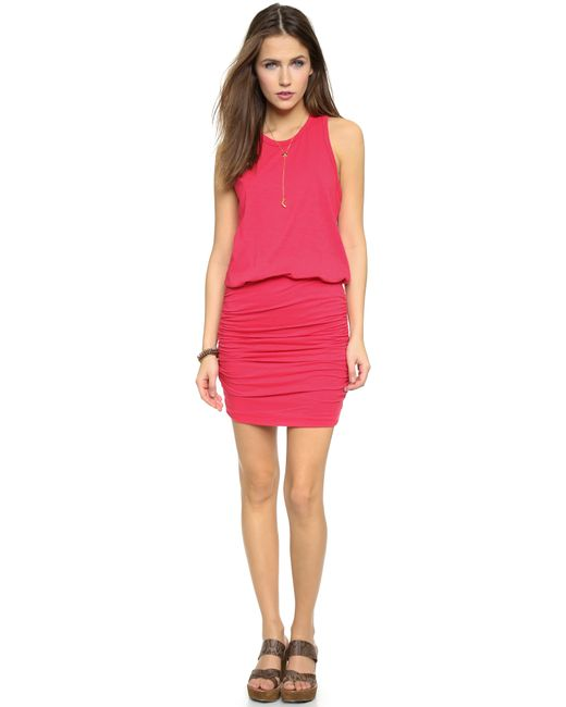 Sundry | Red Sleeveless Dress - Grey | Lyst