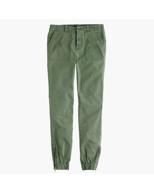 J.Crew | Green Slim Cargo Pant In Stretch Chino | Lyst