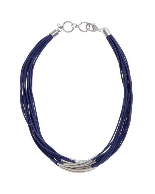 John Lewis | Metallic Multi Row Cord Necklace | Lyst