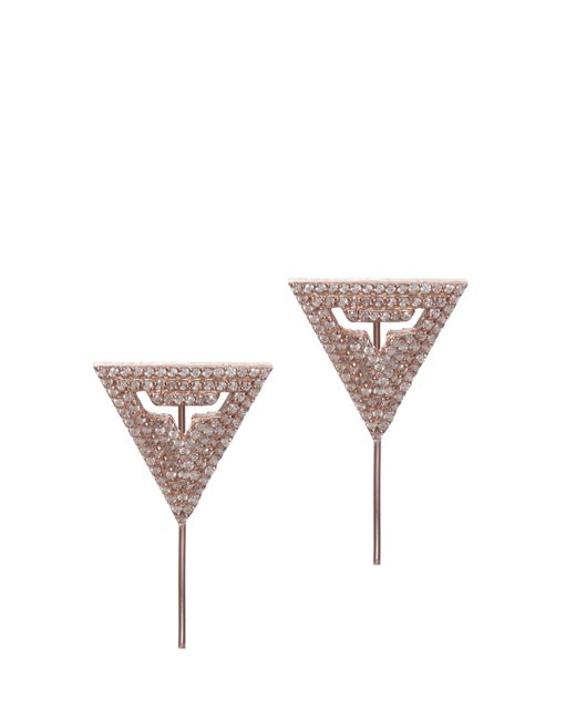 Maha Lozi | Metallic In The Zone Earrings | Lyst