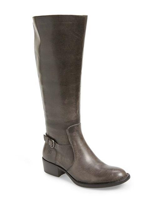 Born | Brown 'helen' Boot | Lyst