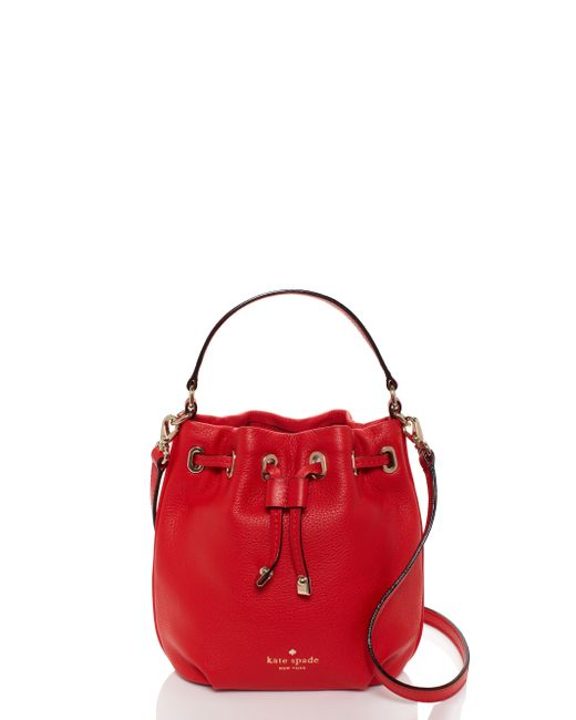 kate spade new york | Red Cobble Hill Wyatt | Lyst