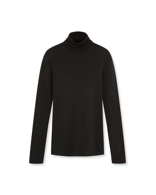 Petit Bateau | Black Women's Undersweater In Light Cotton | Lyst