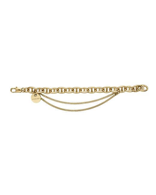 Dyrberg/Kern | Metallic Gallop Triple Chain Bracelet | Lyst