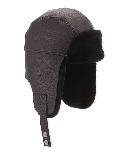 db4b4e3cb8b Ugg Trapper Hat Black
