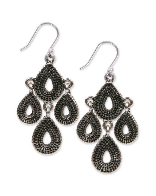 Lucky Brand | Metallic Silver-tone Chandelier Earrings | Lyst